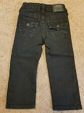 True Religion boys black jeans, size 2T-EUC!