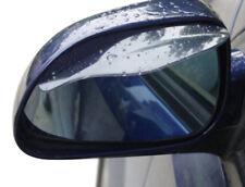 2x Specchio Vento Deflettore Pioggia Specchietto Laterale Secco Set