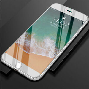 6D Full Edge to Edge 9H+Tempered Glass Screen Protector For iPhones X 8 7 6 Plus