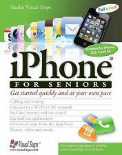 iPhone for Seniors (Computer Books for Seniors series) Studio Visual Steps Pape