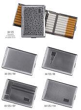 Portasigarette in metallo lavorato 16 sigarette mod. AA125