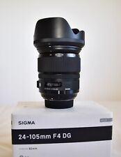 Sigma 24-105mm f4 DG Art Lens  - Nikon Fit