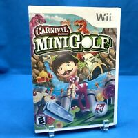 Carnival Games: Mini-Golf (Nintendo Wii, 2008) BRAND NEW SEALED