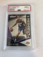 Kyle Kuzma Rookie Card Prizm Refractor Hyper Gem Mint 10 PSA Los Angeles Lakers