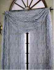 "VALANCE SCARF SWAG VOILE SHEER ELEGANT CURTAIN WINDOW DRAPE 35"" X 216"""