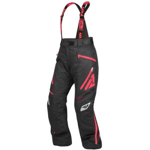 Womens FXR Vertical Pro Insulated Pant HydrX Shell ACMT Lining Black/Coral 14