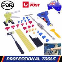 AU PDR Paintless Dent Removal Puller Lifter Hammer Glue Gun Tabs Repair Tool Kit