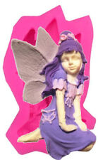 Angel Kneeling Silicone Mold for Fondant Gum Paste Chocolate