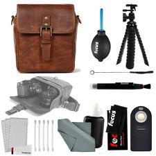 ONA Bond Street Camera Messenger Bag w/ 12-Inch Spider Tripod & Accessory Bundle