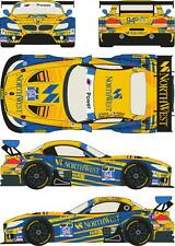 1/24 Decal BMW Z4 GT3 #94 Rolex 24h of of Daytona 2014 for Fujimi