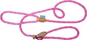 "Hemmo & Co 60"" Dog & Co Extra Strong Super Soft Pink Rope Slip Lead Halter Large"