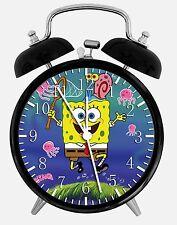"SpongeBob SquarePants Alarm Desk Clock 3.75"" Home Decor W46 Nice For Gift"