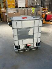IBC TANK 1000 Litre Metal Base – Used Once, Easily Cleanable