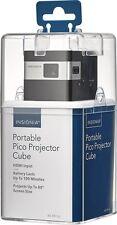 Insignia- DLP Pico Portable Projector - Black