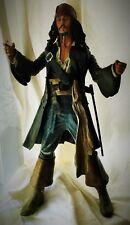 DISNEY 2004 MECA 18 in (environ 45.72 cm) Talking Capitaine Jack Sparrow