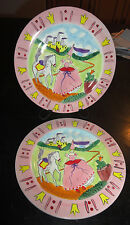 New listing Tracy Flickinger Mesa International Princess and the Frog Dessert Plates (2)
