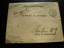 FRANCE - enveloppe (sans timbre) 12/10/1927 (cy52) french