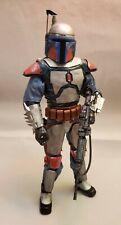 Custom 1/6 Mandalorian Warrior Figure Star Wars Fett Vader Clone Wars
