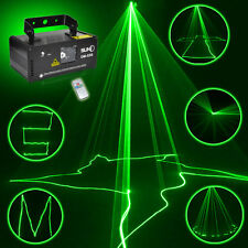 SUNY Remote DMX 50mW Green Laser Stage DJ Party Line Scan Light Gig Show DM-G50