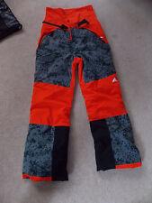 "Kinder Snowboardhose orange/grau/schwarz Gr. 110 ""B/G SNOWFUN P"" ClimaProof"