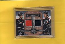 2005-06 UD ARTIFACTS TUNDRA  PETER FORSBERG & SIMON GAGNE 4/125
