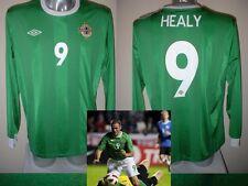 Irlanda del Nord David Healy Maglia Jersey adulto XL NUOVA CON ETICHETTA CALCIO L / S Calcio Top