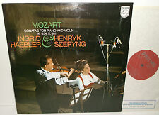 6500 055 Mozart Sonatas For Piano And Violin Ingrid Haebler & Henryk Szeryng