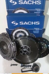 VW PASSAT CC 4MOTION 2.0 TDI SACHS DMF FLYWHEEL, CLUTCH KIT WITH SLAVE BEARING