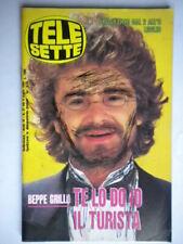 telesette 27 1989 grillo ladd brandauer ronnie d'angelo angela zucchero fignon