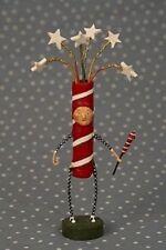 LORI MITCHELL Sparky ~ Collectible Firecracker Americana Figure ~ Patriotic USA