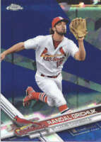 RANDAL GRICHUK 2017 TOPPS CHROME SAPPHIRE EDITION #132 ONLY 250 MADE