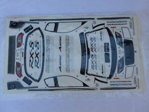 HPI Decals Mazda RX8   -  RC Car Parts