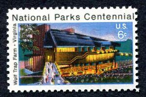 NATIONAL PARKS CENTENNIAL Scott 1452 Excellent Condition USA 6-cent MNH/OG (380)