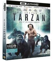 THE LEGEND OF TARZAN (BLU-RAY 4K + 2K) Definizione Ultra HD,Samuel L. Jackson