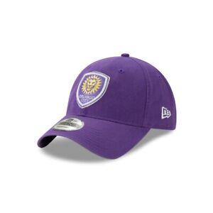 Orlando City Lions New Era 9TWENTY MLS Adjustable Strapback Hat Dad Cap Soccer
