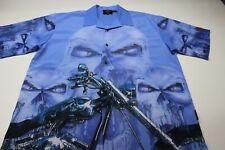 Dragonfly Skeleton Motorcycle Dream Back Panel Shirt 2Xl Xxl Titan Motorcycles