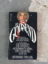 The Godsend Bernard Taylor 1977 Paperback 1st Ed Horror Paperbacks from Hell