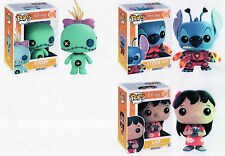 "Funko Disney LILO - STITCH - SCRUMP 3.75"" POP Figure 3PC SET"