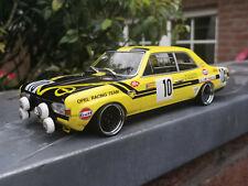 """Opel Commodore A GS Steinmetz mit 16"""" BBS-Rennsport-Alufelgen 1:18 Tuning/Umbau"""