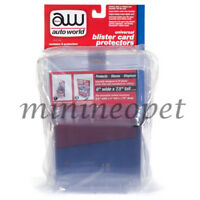 AUTOWORLD AWDC013 BLISTER CARD PROTECTOR 6 PACKS FOR 1/64 SCALE MODEL CARS
