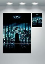 Batman The Dark Knight Wall Art Poster Print A3 / A4 Sections or Giant 1Piece