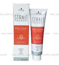 Schwarzkopf Strait Therapy 0 Zero Very Curly Straightening Cream FREE reg post