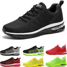 Men's Casual Air Cushion Trainers Sports Running Sneakers Athletic Walking Shoes