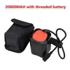 20000mAh 8.4V Battery Pack For XM-L T6 LED Bike Bicycle Light Head Torch Lamp