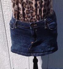 Women's Size 6 Abercrombie And Fitch Dark Blue Denim Skirt