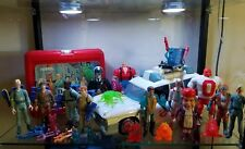 The real ghostbusters toys Lots Ecto 1 And Figures Lunchbox