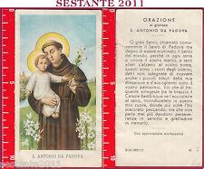 1133 SANTINO HOLY CARD S. ANTONIO DA PADOVA ED G MI  41 LOGO C MEDIA CONSERVAZI.