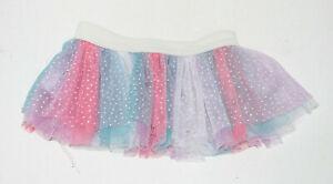Build a Bear Pink, Purple, Blue Tulle Skirt
