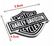 Harley Davidson Chrome Motorcycle Body Tank Emblem Badge Logo Metal Sticker New