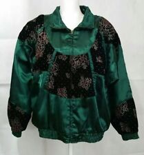 Lavon LARGE Windbreaker Jacket Jogging Pants Track Suit Vintage Green